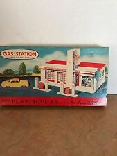 Plasticville Gas Station 1800 149 For O And S Scale With Original Box