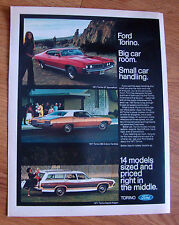 1971 Ford Torino Ad  GT SportsRoof, 500 Hardtop & Squire Wagon