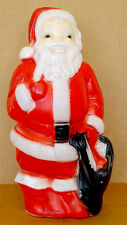 MID-CENTURY Vintage 1960's CHRISTMAS BlowMold SANTA CLAUS by EMPIRE PLASTIC #01