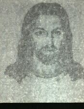 Face of Jesus 70s vintage iron on tee shirt transfer NOS full size