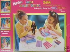 New in box 1999 Barbie Super Jewelry Center Design Set Accessories MPN 22901