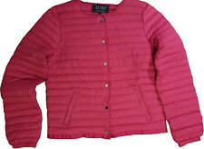 Armani jeans women's fuchsia down jacket size 44 (12UK)