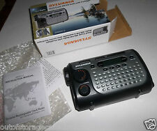 Sylvania SA85031-2 Emergency Hand Crank AM/FM Radio w/ Flashlight - Works Great