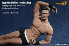 Phicen M33 Super-Flexible Male Seamless Muscular Body w/ Steel Skeleton 1/6