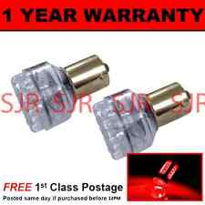 382 1156 BA15s 207 P21W RED 24 DOME LED HI-LEVEL BRAKE LIGHT BULBS X2 HBL200501