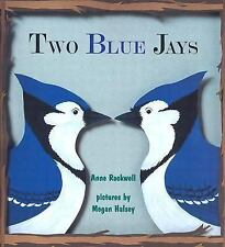 Two Blue Jays-ExLibrary
