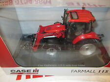 Universal Hobbies UH4273 Case IH Farmall115U Tractor & Loader 1:32 Replica Toy