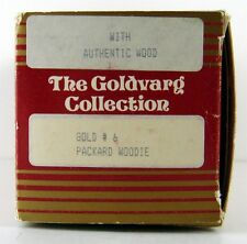 GOLDVARG COLLECTION MODELS 1/43 SCALE  # 6 Packard Woodie Gold Box Only