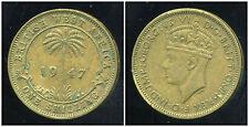 AFRIQUE de L'OUEST  1 one shilling 1947  ( british colony )