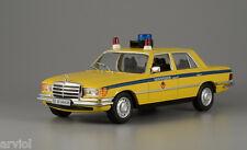 MERCEDES W116 450SEL RUSSIA Police  -- 1/43 -- De Agostini - IXO -- NEW