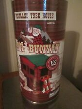 PINELAND TREE HOUSE Paul Bunyan  ALL Wood 100 PIECES FACTORY SEALED