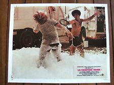 JIM KELLY PHOTO EXPLOITATION LOBBY CARD LA CEINTURE NOIRE ROBERT CLOUSE 1974