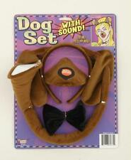 CHILD PUPPY DOG WITH SOUND TAIL EARS NOSE COSUTME ACCESSORY SET FM61675