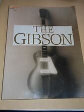 """THE GIBSON"" Japan Book LES PAUL,335,FLYING V,EXPLOLER,L-5,BYRDLAND,J-200,J-45"