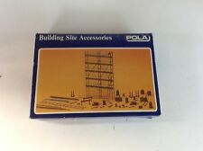 "Pola  #11462 HO scale ""Building Site Accessories"" kit"