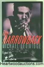 The NARROWBACK by Michael Ledwidge SIGNED FIRST Debut Novel- High Grade