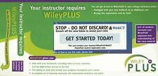 Wiley Plus Access Code - works with any title - delivery within 24 hrs