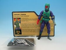GI Joe Convention Exclusive Toxo-Zombie (v2) Zombie Initiative 2014 JoeCon