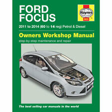 [5632] Ford Focus 1.0 1.6 Petrol 1.6 Diesel 2011-14 (60 to 14 reg) Haynes Manual