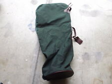 Orvis Battenkill Leather & Canvas Golf Clubs Bag Travel Case