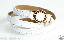 House of Harlow 1960 Nicole Richie Sunburst Wrap Bracelet White