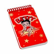 "Lenticular Betty Boop Spiral Bound Star Red Notebook 2""x4""144 Pages #BB-203-NBM#"