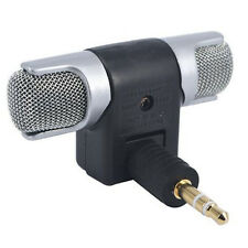 Hot Mini Stereo Microphone Mic 3.5mm Mini for PC Laptop Notebook Phone