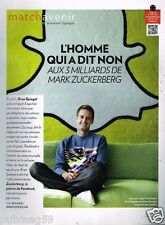 Coupure de Presse Clipping 2014 (2 Pages) Eva Spiegel Snapchat
