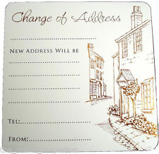 10 x NEW HOME / CHANGE OF ADDRESS / MOVING HOUSE CARDS WITH ENVELOPES - (202)