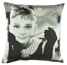 Tapestry Audrey Hepburn 17 Inch Photo Cushion Cover ** SPECIAL PRICE**