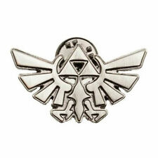 OFFICIAL THE LEGEND OF ZELDA TRI-FORCE SYMBOL METAL PIN BADGE (BRAND NEW)