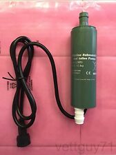 Rule iL280PG Inline Submersible Water Pump, 12V, 280GPH, 1080 LPH, 14 PSI, 12VDC