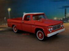 CLASSIC 1962 62 DODGE D-100 SWEPTLINE PICKUP TRUCK COLLECTIBLE MODEL - DIORAMA