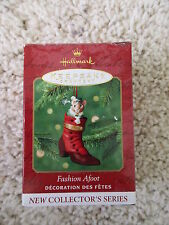 Hallmark 2000 Fashion Afoot Christmas Ornament