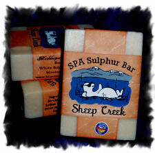 Tiger Lily _ Sheep Creek SPA Sulphur Mineral Soap Made in Montana_Handmade