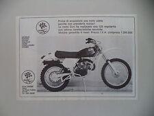 advertising Pubblicità 1978 MOTO GORI 125 REGOLARITA'