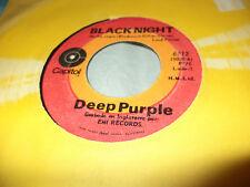 """DEEP PURPLE """"BLACK NIGHT/SPEED KING"""" 7"""" MEXICO RARE"""