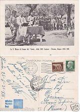 # FORMIA: LA S. MESSA AL CAMPO DEI LEONI DELLA 180a LEGIONE - 1935