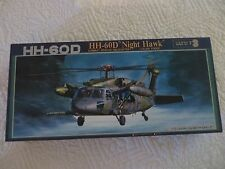 FUJIMI SIKORSKY HH-60D NIGHT HAWK HELICOPTER  MODEL PLANE RESCUE HELICOPTER