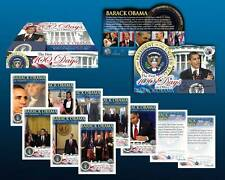 Lot of 2 BARACK OBAMA Complete 50-Card Set *FIRST 100 DAYS IN OFFICE* New Sealed