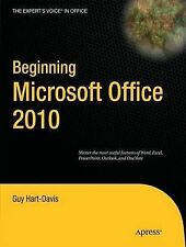 Beginning Microsoft Office 2010 (Expert's Voice in Office), Hart-Davis, Guy, Ver