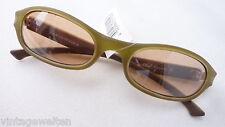 S. OLIVER Sonnenbrille Shoppingbrille grün NEU unisex Metall Damen schmal leicht