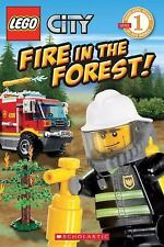 Lego City: Fire in the Forest! by Samantha Brooke ( Level 1 Reader)