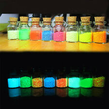 1 Pack Glow in dark Sand Luminous for FISH TANK AQUARIUM Ornament Colorful DIY