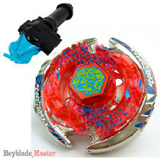 Fusion METAL Beyblade Masters BB-74 Thermal Lacerta+BLUE STRING LAUNCHER+GRIP