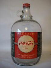 Coca-Cola One Gallon Paper Label Glass Syrup Jug 1940's - Original and vintage