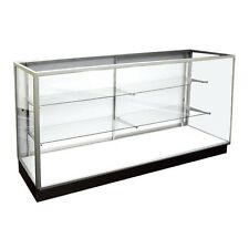 Extra Vision Showcase 4' Long,   Glass Display Case, Retail Store Fixtures,