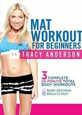 Tracy Anderson: Mat Workout for Beginners, DVD, Tracy Anderson, Not Available