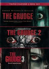 THE GRUDGE 1 + 2 + 3 New Sealed Triple Feature 3 DVD Set