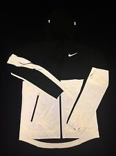 NEW Nike Shield 3M Jacket Mens SMALL Neon Reflective Volt Running Repels Water